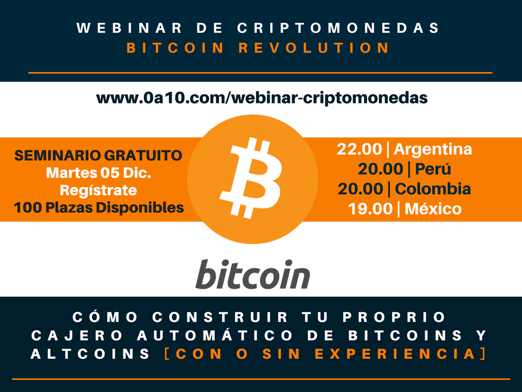 Seminario de Bitcoins y Criptomonedas
